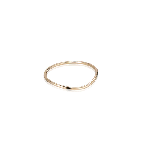 MARIN, Ripple ring, Gold/high