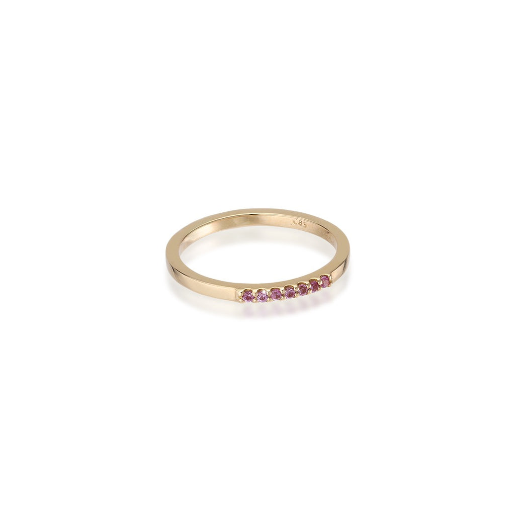 ALIGNED, 1/6-Line Ultra Light Ring, Pink