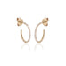 MARIN, Small Hoops 12mm, Gold