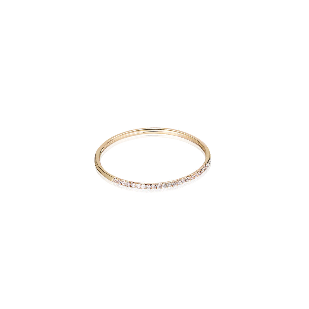 MARIN, Still diamond ring, Gold