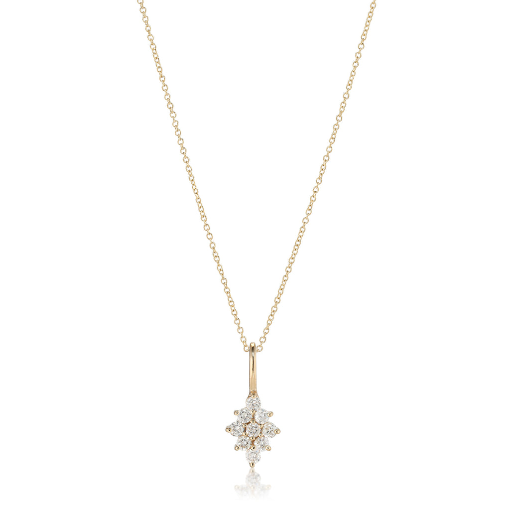 OLYMPIA, Dianysos Necklace, Gold/White