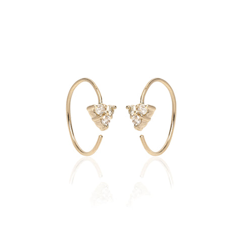OLYMPIA, Hera Open Hoops, Gold