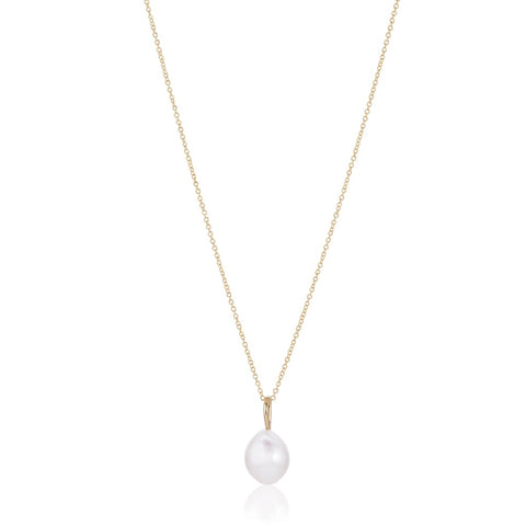 OYSTER, Storm necklace, gold/pearl