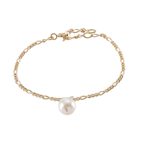 DROPS DELIGHT, Pearl Bracelet, White Gold