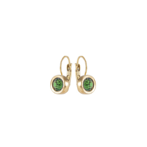 METRO, Earring, Green Gold
