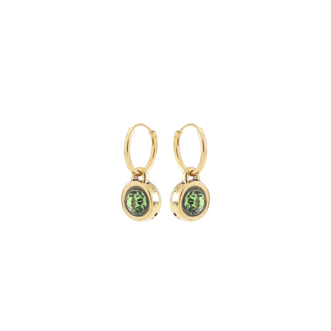 METRO, Hoop earring, Green Gold