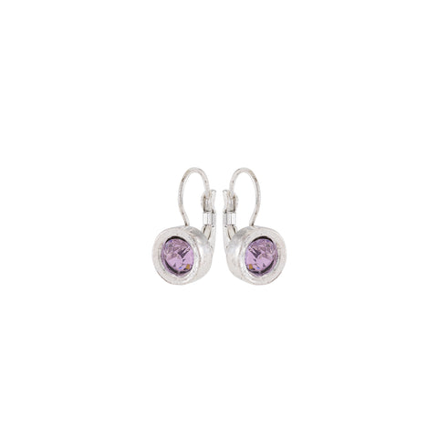 METRO, Earring, Rose Silver