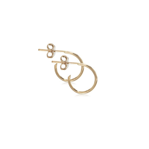 RIO, Small Energy Hoops 12mm, Gold