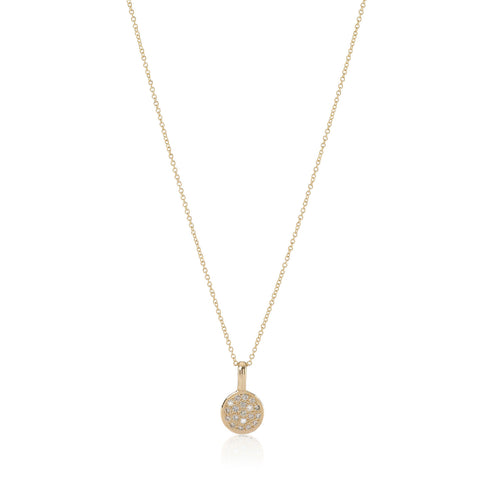 CIRCLE LINE, Small Pendant Necklace