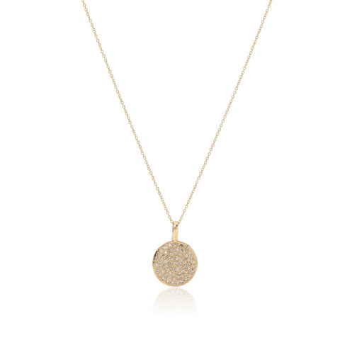 CIRCLE LINE, Large Pendant Necklace