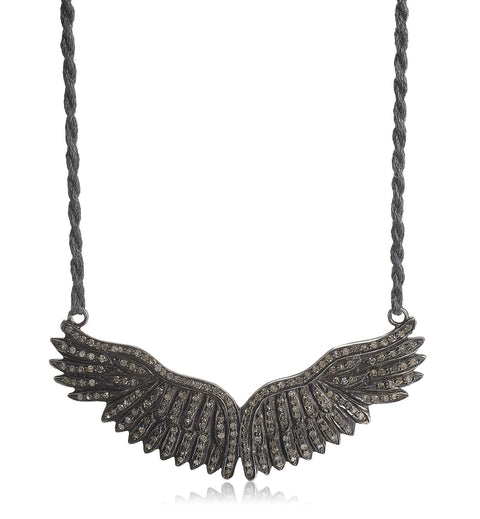 EAGLE ROCK, Large Wing Necklace