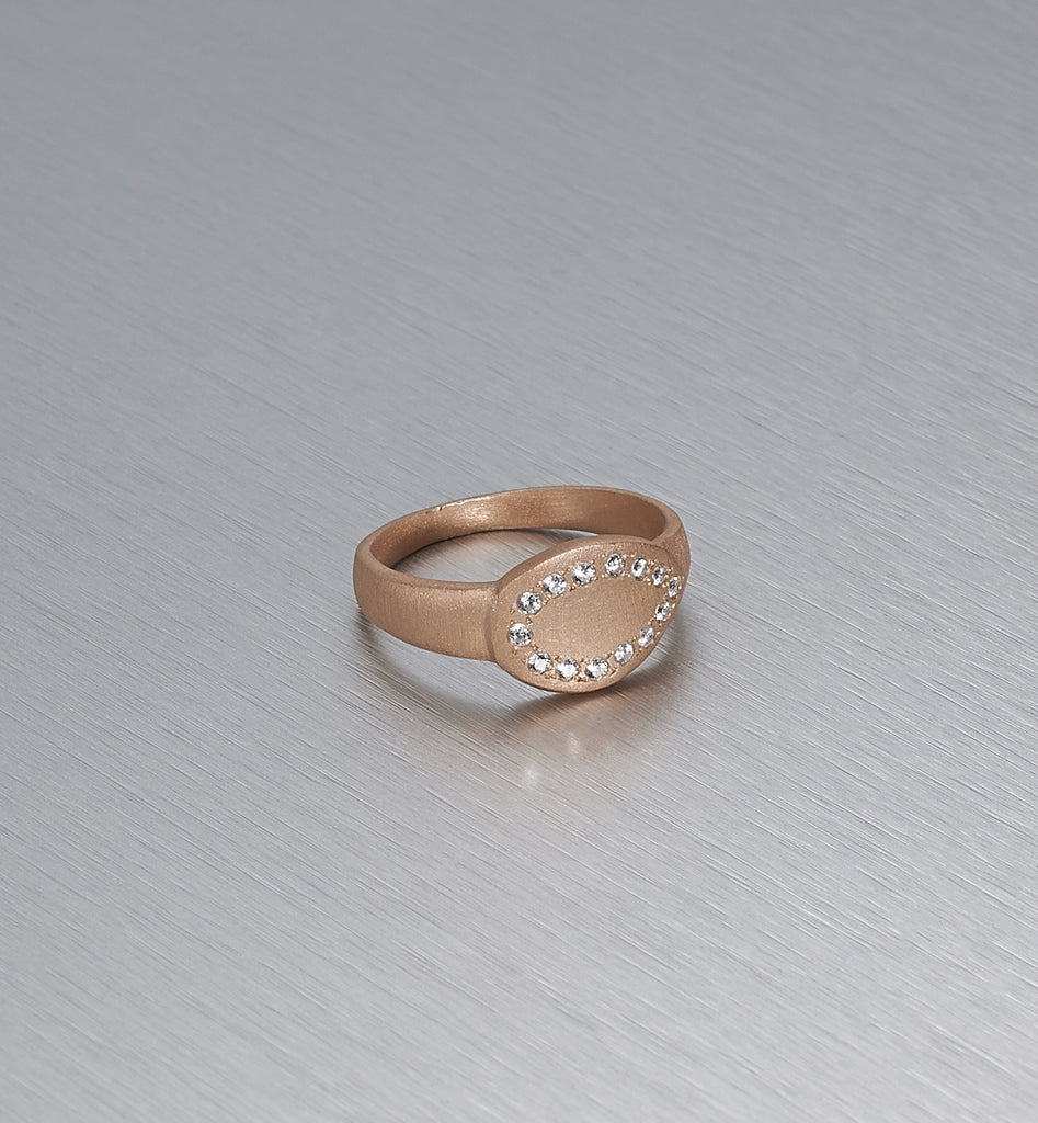 LOTUS LEAF, Leaf On The Side Ring