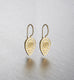 LOTUS LEAF, Small Earring