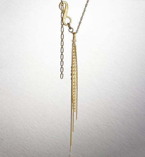 IDAHO WHEAT, Decorated Seads Necklace
