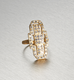 ART DECO GLAM, Empire Ring