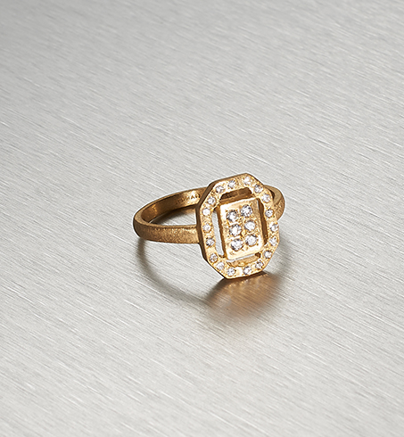 ART DECO GLAM, Crysler Ring