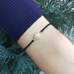 SUPER ELLIPSE, Ellipse Tie Bracelet