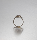 DIAMONDS, Oval Gold Lined Ring