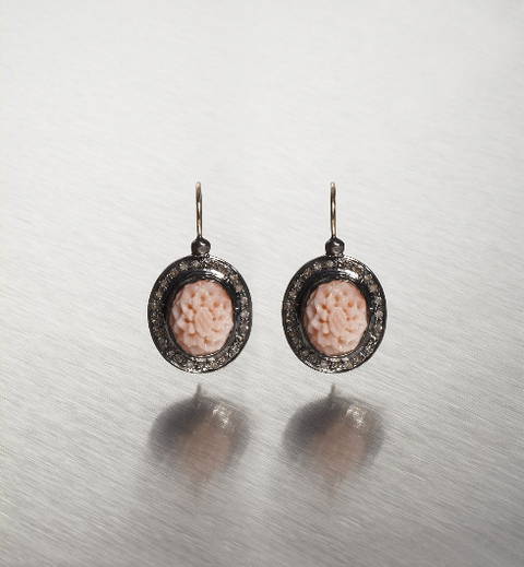 DIAMONDS COOL CORALS, Yushan Earring