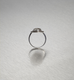 DIAMONDS, Oval Silver Lined Ring