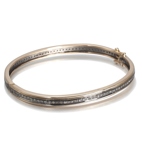 BOSTON, 1-line Bangle Size 0