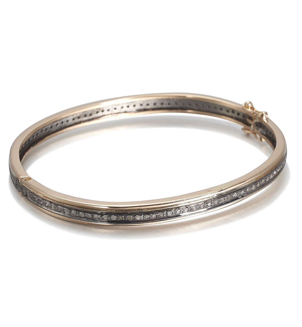 BOSTON, 1-line Bangle Size 2