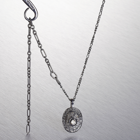 MODERN VINTAGE, Victorian Ellipse Necklace