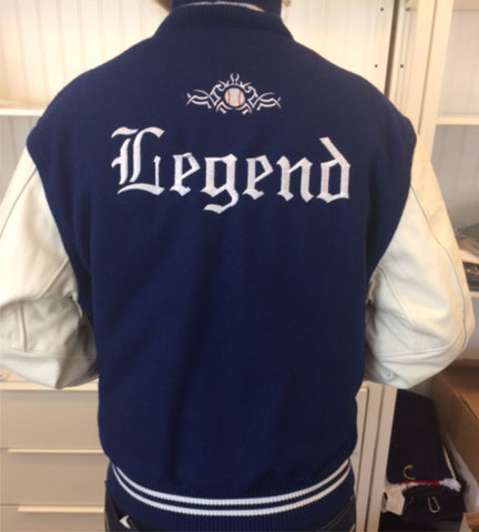 Legend high school letter jackets monograms by k k legend high school letter jackets spiritdancerdesigns Choice Image