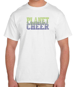 Planet Cheer Short-Sleeve T-Shirt Adult Bleeding - Monograms by K & K