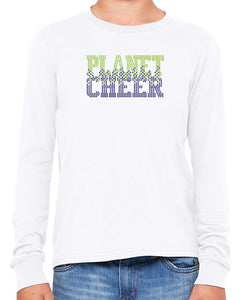 Planet Cheer Youth Bleeding Long-Sleeve T-Shirt - Monograms by K & K