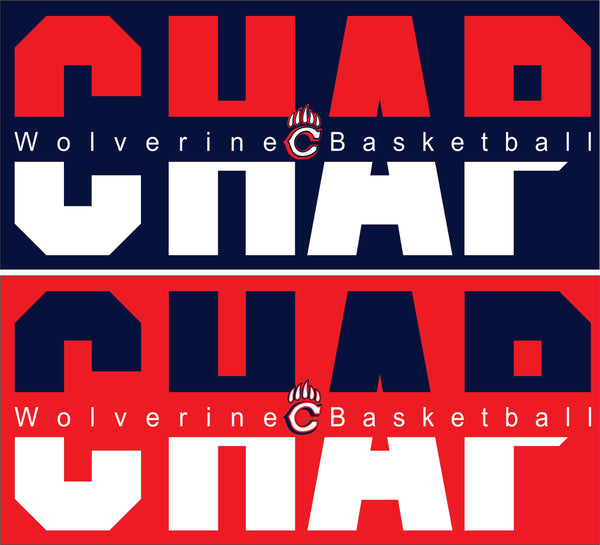 Chaparral Basketball Hoodie - Monograms by K & K