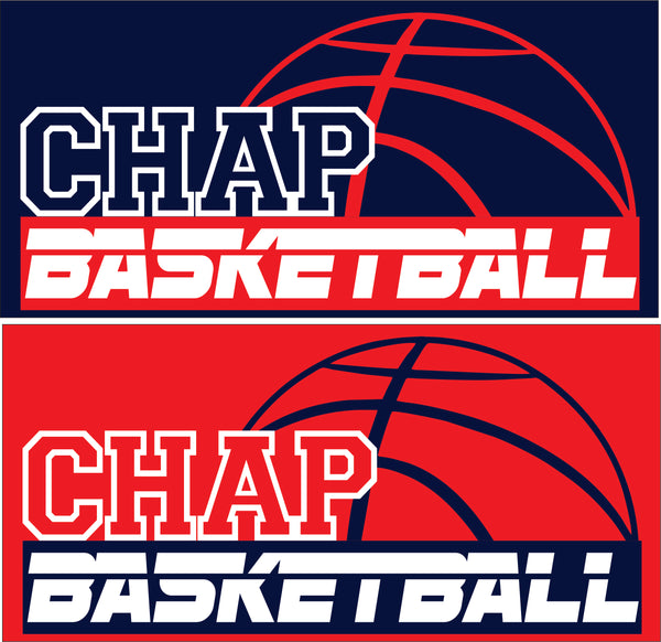 Chaparral Basketball Short-Sleeve Heather T-Shirt - Monograms by K & K
