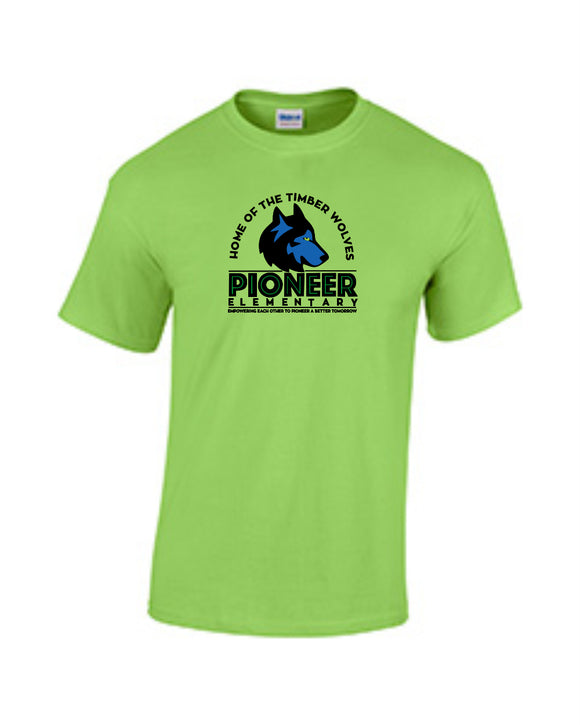 Pioneer Elementary Youth T-shirt - Monograms by K & K
