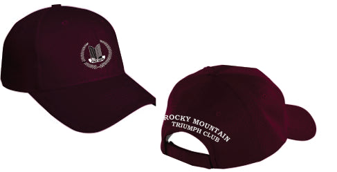 Rocky Mountain Triumph Club Hat - Monograms by K & K