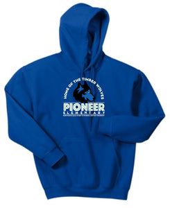 Pioneer Elementary Youth Hoodie - Monograms by K & K