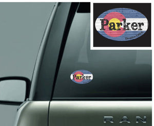 Parker Colorado Sticker - Monograms by K & K