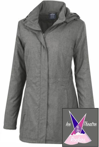 Ice Theatre of the Rockies Ladies' Coaches Jackets-Coaches ONLY - Monograms by K & K