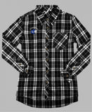 Grandview Poms Flannel Shirt - Monograms by K & K
