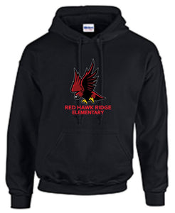 Red Hawk Ridge Hoodie - Monograms by K & K