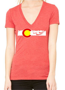 Buckley Redeye Ladies V-Neck Tee