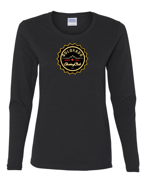 Colorado Skating Club Ladies Long-Sleeve T-Shirt - Monograms by K & K