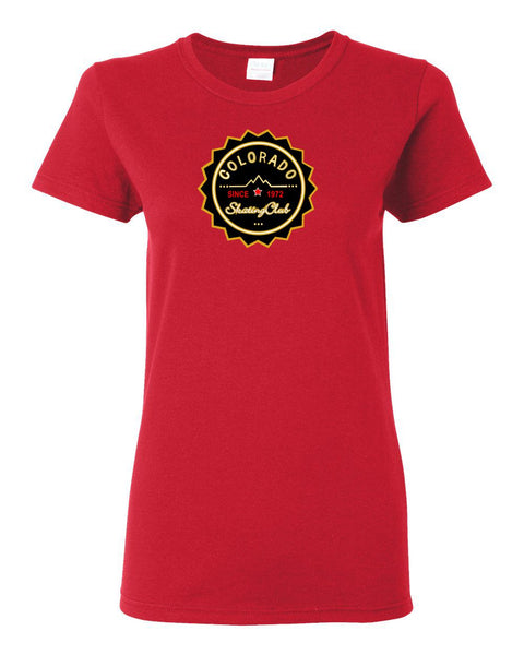 Colorado Skating Club Ladies Short-Sleeve T-Shirt - Monograms by K & K