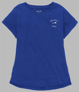 Grandview Poms Ladies T-Shirt - Monograms by K & K
