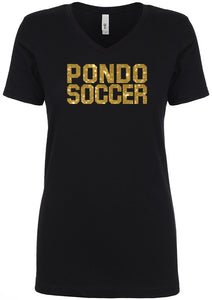 Ponderosa Boys Soccer Ladies' V-Neck