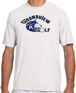 Grandview Golf Moisture Wicking T-Shirt - Monograms by K & K