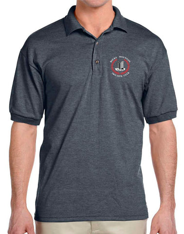 Rocky Mountain Triumph Club Adult Polo - Monograms by K & K