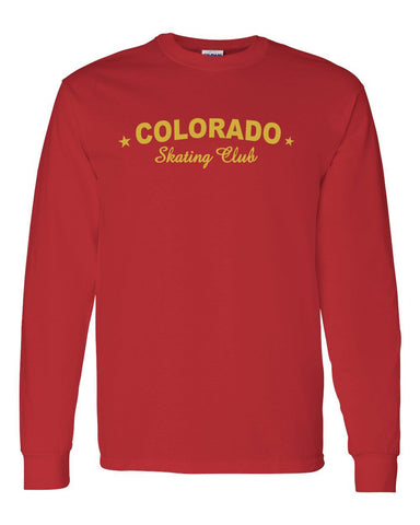 Adult Colorado Skating Club Long-Sleeve T-Shirt - Monograms by K & K