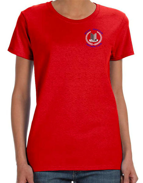 Rocky Mountain Triumph Club Ladies Short-Sleeve T-Shirt - Monograms by K & K