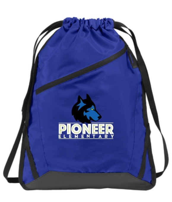 Pioneer Elementary Cinch Bag
