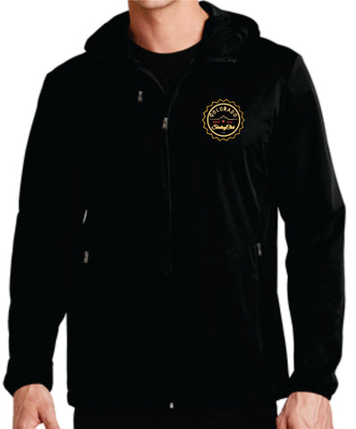Colorado Skating Club Adult Active Hooded Soft Shell Jacket - Monograms by K & K